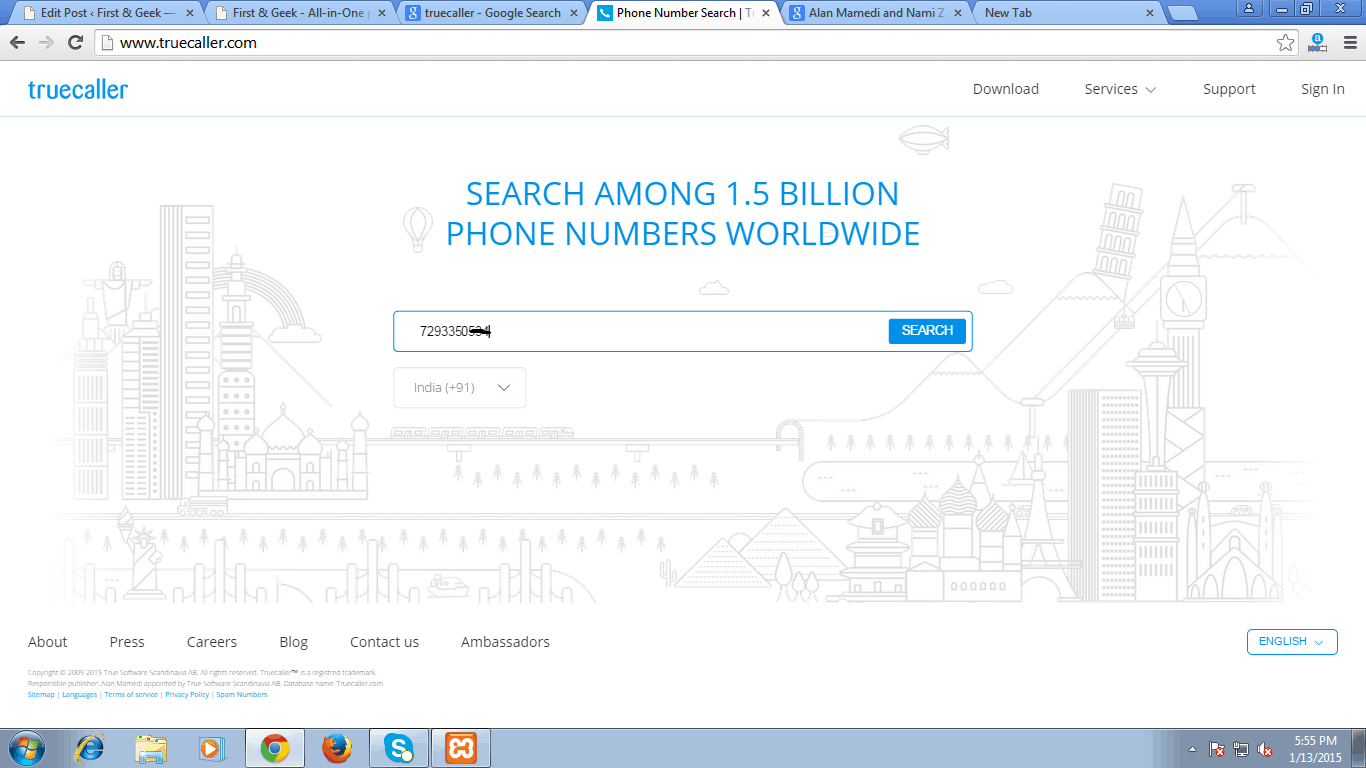 Best way to trace Mobile Number With Name and Location