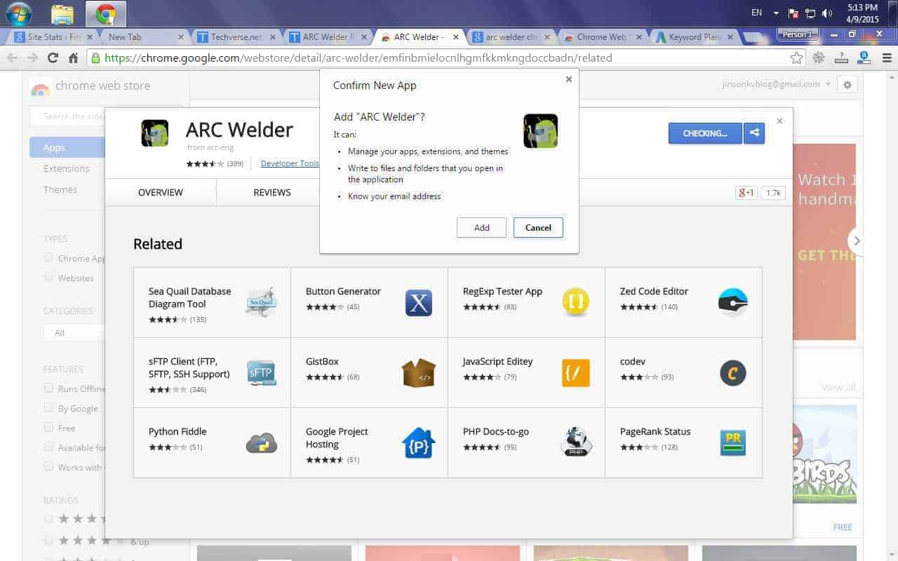 How to Use ARC welder for Running Android apps and games on Chrome