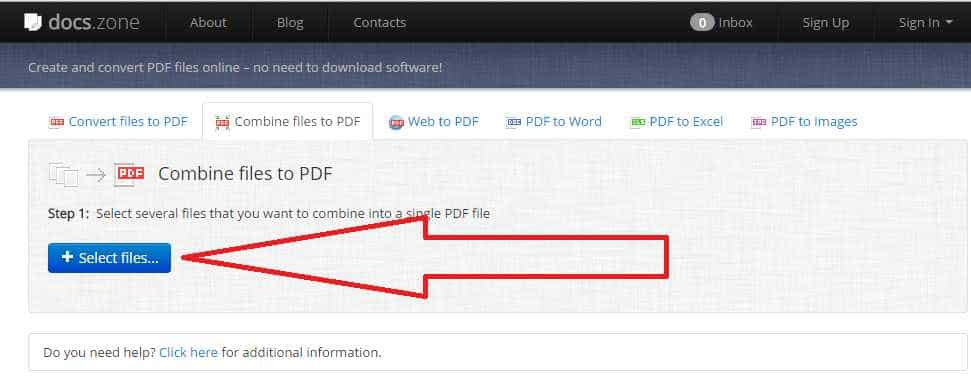 Merge pdf files – The best tool to combine pdf files Online