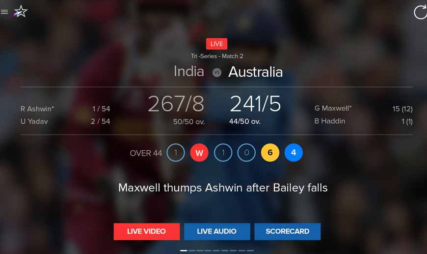 IPL 2015 live streaming on android