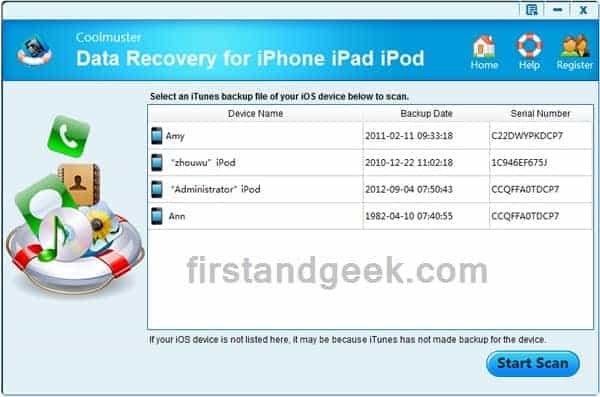 How to recover deleted files from iPhone/iPad/iPod?