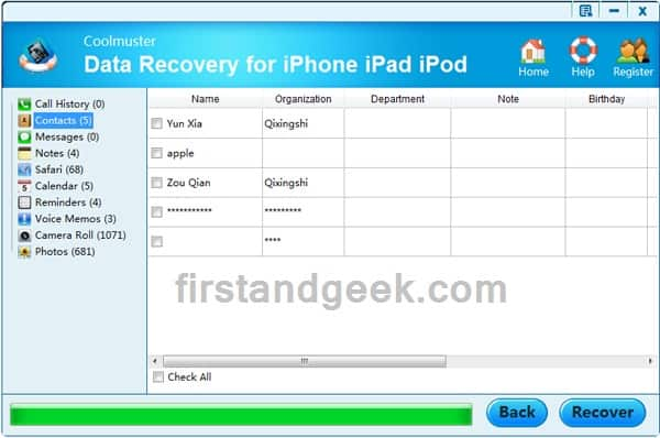 iPhone iPad recovery