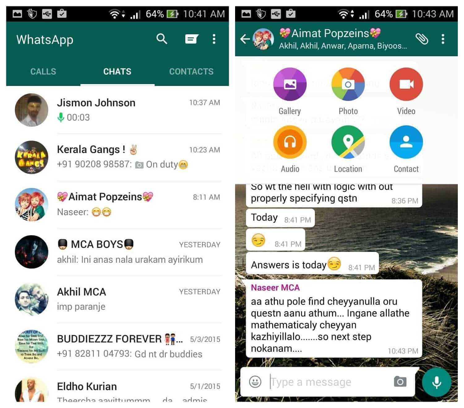 How to revert Whatsapp material design version to old version?