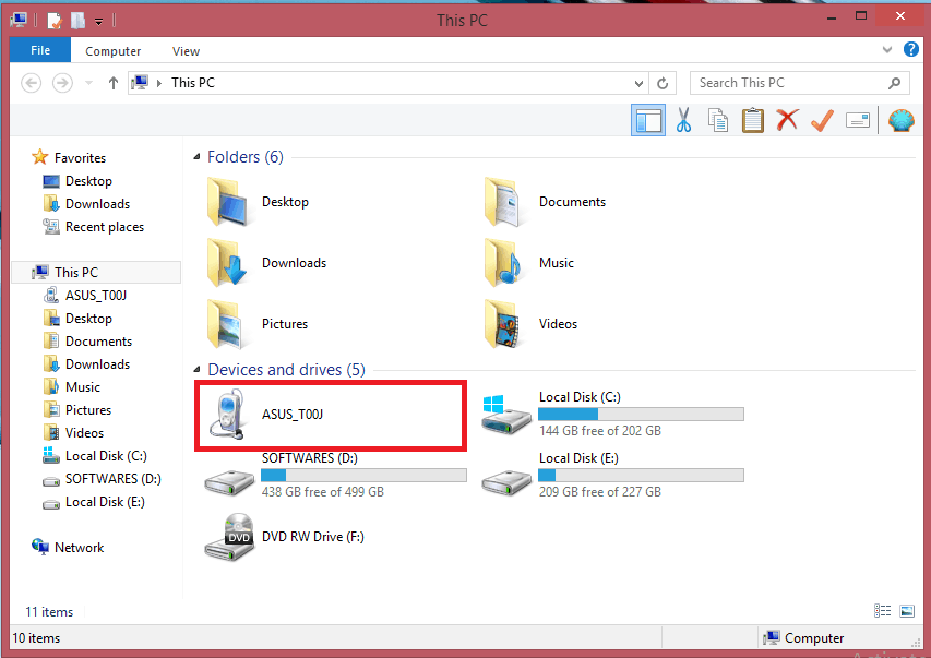 [Solved] Zenfone 5 and 4 not detecting in PC with USB cable