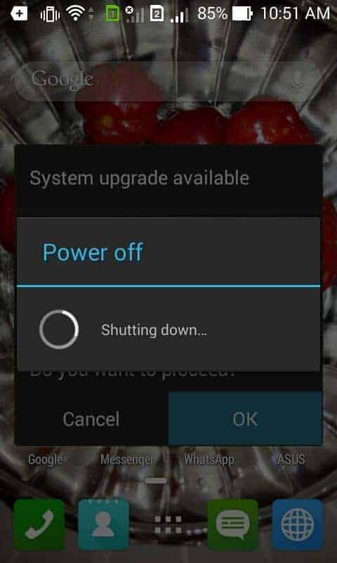 Some Screenshot of Zenfone 4 with lollipop versio
