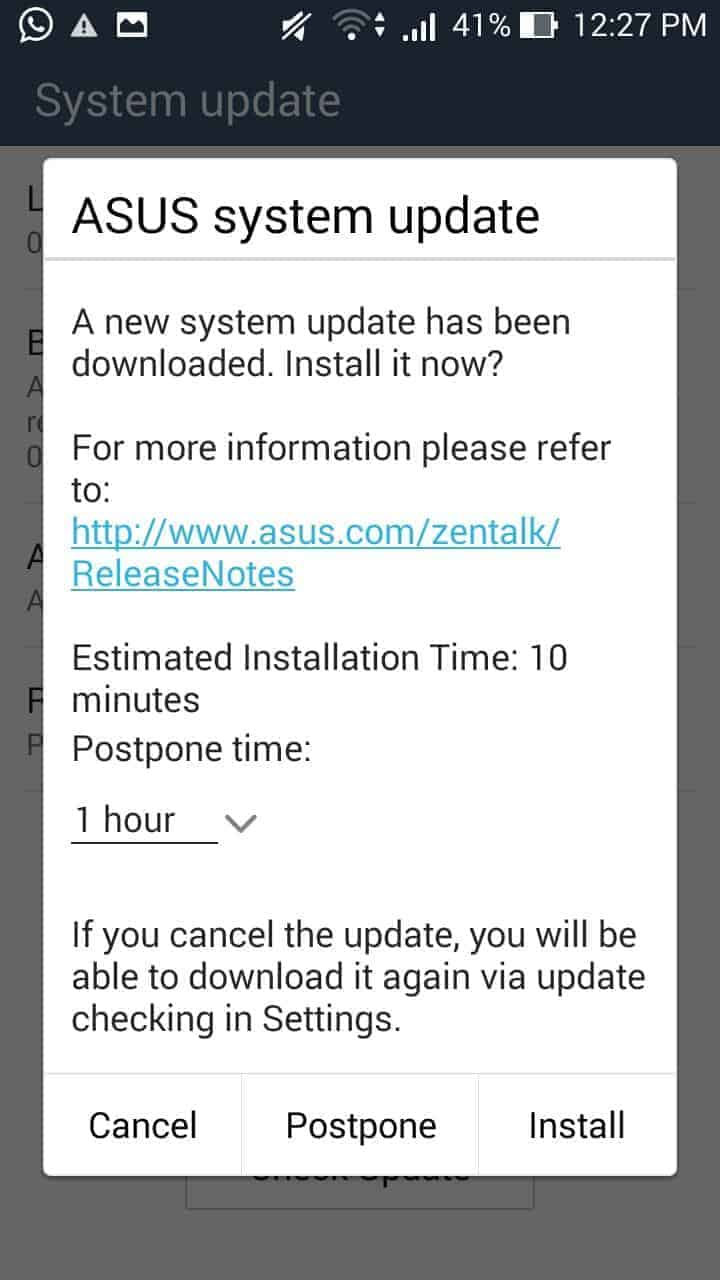 Update Asus Zenfone 5 to Lollipop – Full Guide with Screenshots