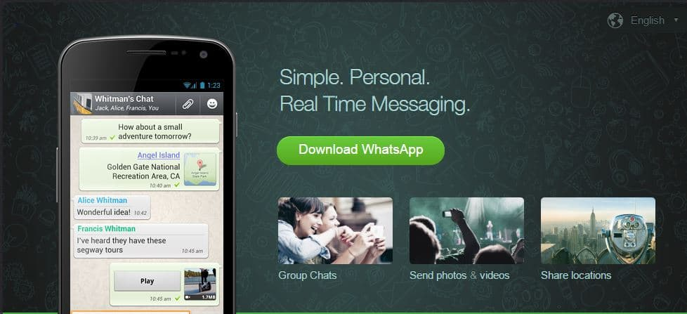 Download Whatsapp 2.12.437 (26.97 MB) apk – 256 Members in a Group update