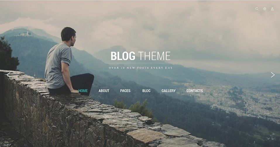 Blog Theme Joomla Blog Template