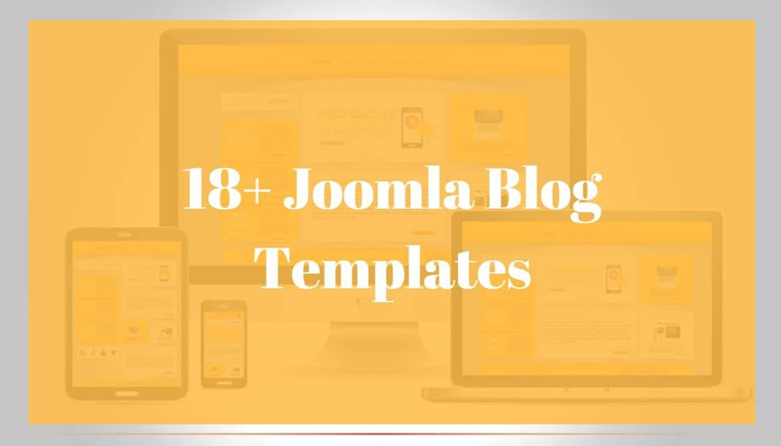 Joomla Blog Templates