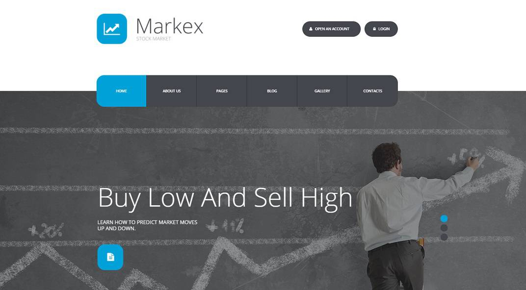 Markex Joomla Blog Template