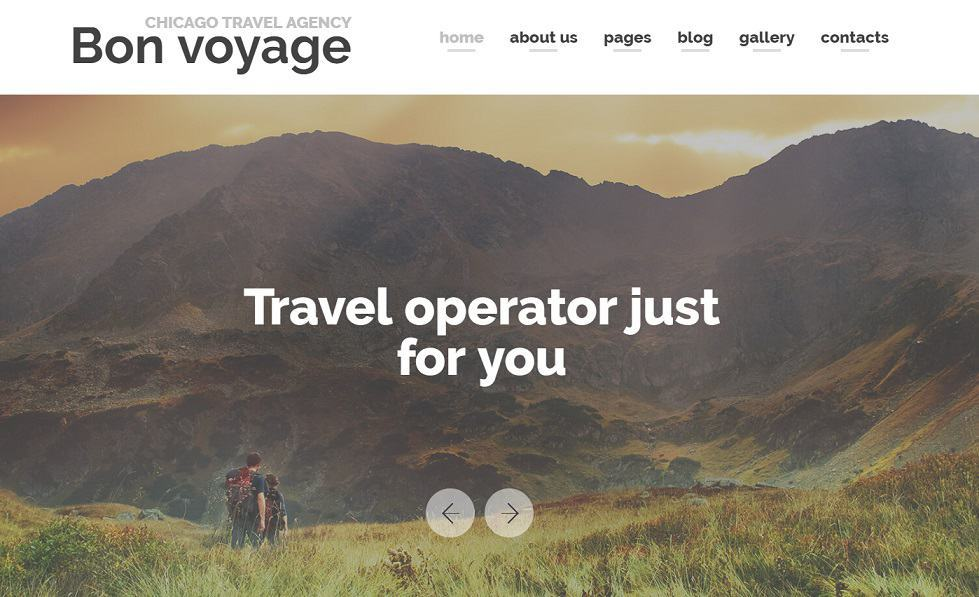 Travel Agency Joomla Blog Template