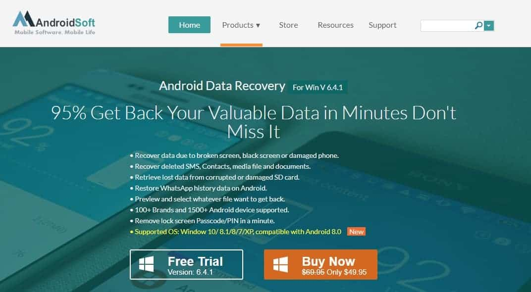AndroidSoft Data Recovery