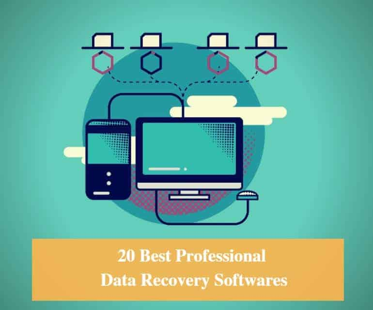 Best Professional Data Recovery Software for Windows and Mac