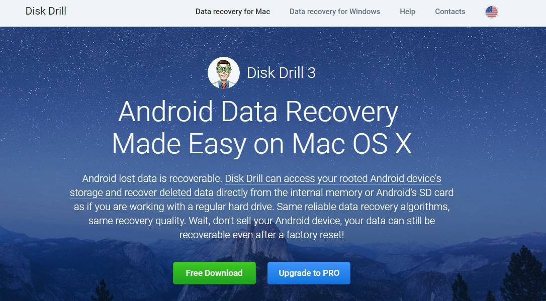 Disk Drill Android Data Recovery