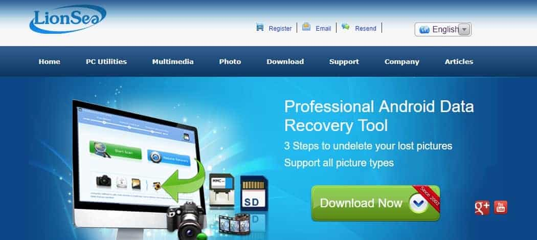 LionSea Android Data Recovery Tool