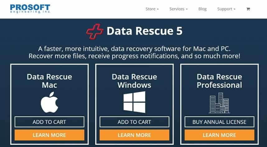 ProSoft Data Rescue 5